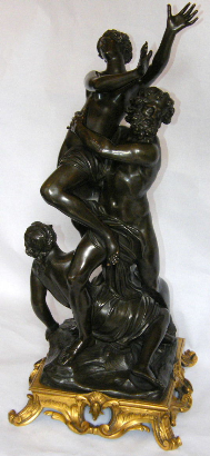 483 Sold Henry Dasson 1825 1896 The Rape Of Proserpine