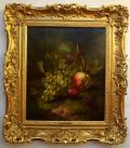 186. Eloise Harriet Stannard 1829-1915 Still Life Fruit Oil on Canvas