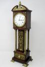 924. Superb Miniature Oak Brass Mounted Longcase Clock late 19thCt