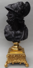 846. Attributed to Benedetto Boschetti Fine LARGE Bronze Bust Ajax 19thCt