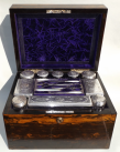 192. Rare Irish Coromandel Vanity Box Austins Dublin 19thCt