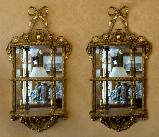 281. Pair Gilt Mirrors Irish Robert Strahan 19th Ct