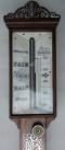 367. Superb Rosewood Stick Barometer Abraham Cheltenhan early 19thCt